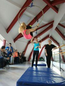 Отчетный концерт по воздушной акробатике 2017