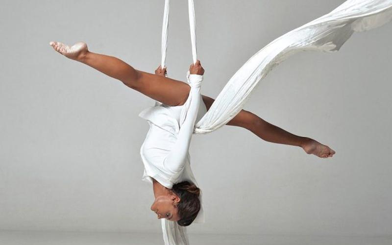 Воздушная гимнастика в Отрадном